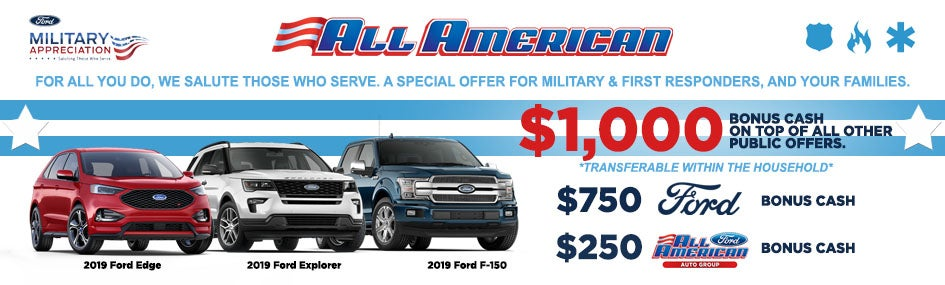 Ford First Responder >> Special Ford Rebates Near Manalapan Nj Ford Offers