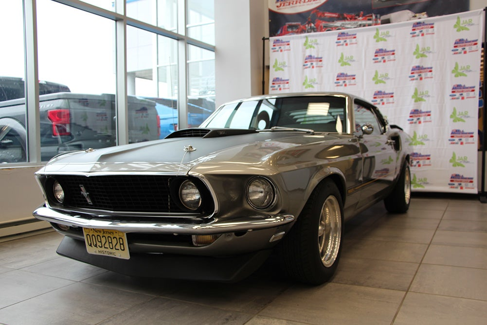 Win a 1969 Mustang Fastback Mach 1